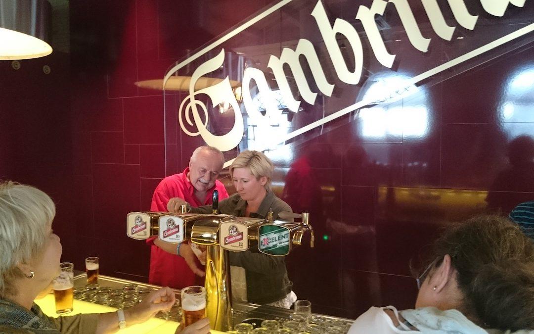 Gambrinus hostil zvědavé milovnice piva