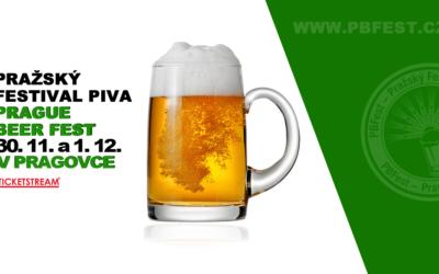 30.11. Podzimní Pražský Festival Piva v Pragovce