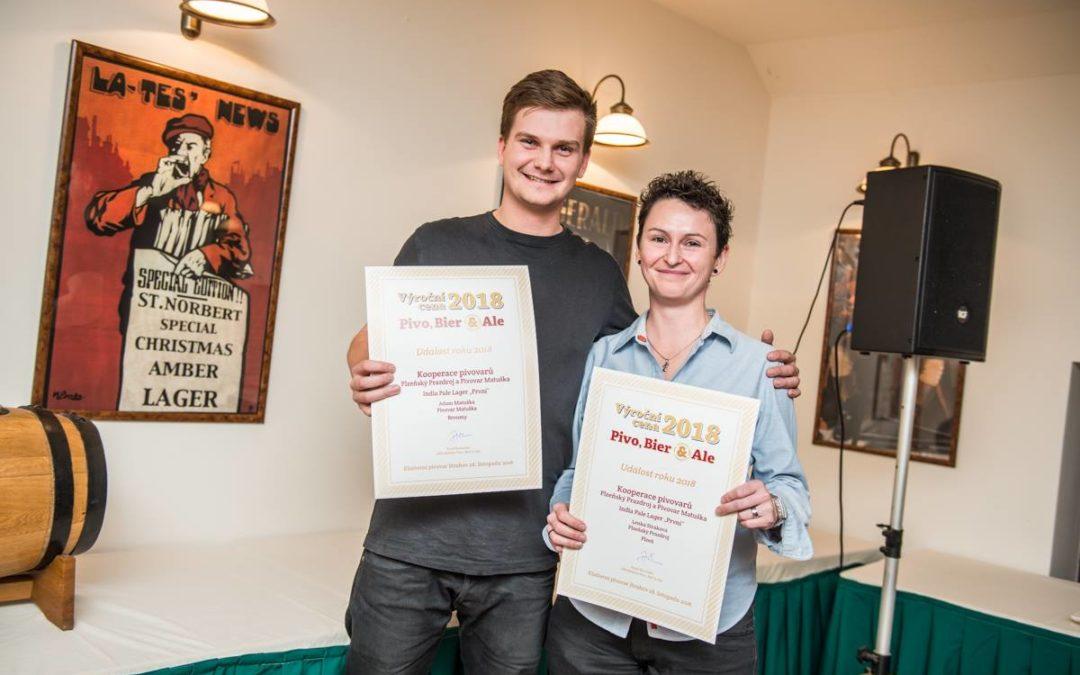 Výroční ceny časopisu Pivo, Bier & Ale rozdány