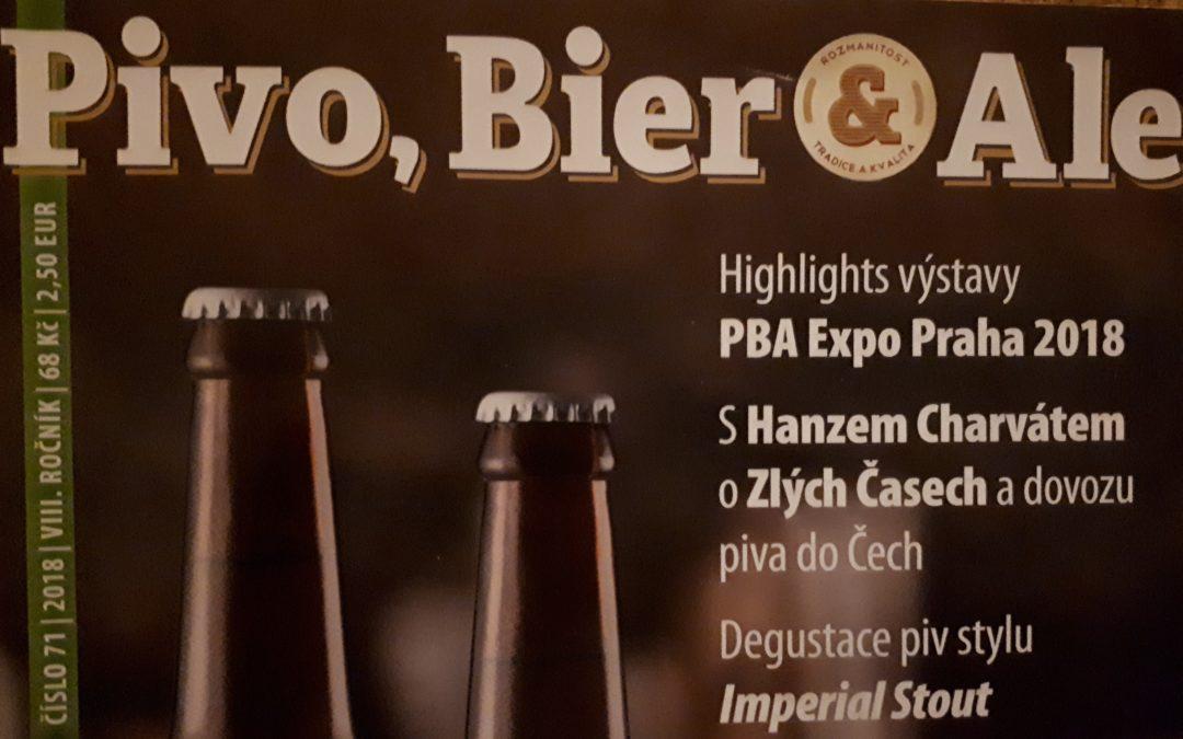 29.-30.1. Výstava Pivo, Bier & Ale EXPO 2019